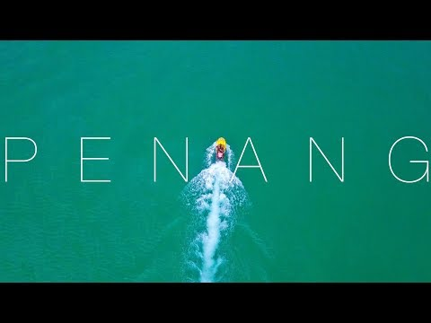 BEST DRONE SHOTS YET? TRAVEL PENANG, MALAYSIA