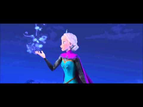 Let it go - Idina Menzel -  Lower Key Karaoke