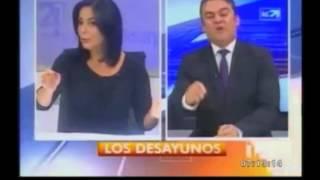 María Josefa Coronel pierde los estribos con José Serrano - María Josefa Coronel