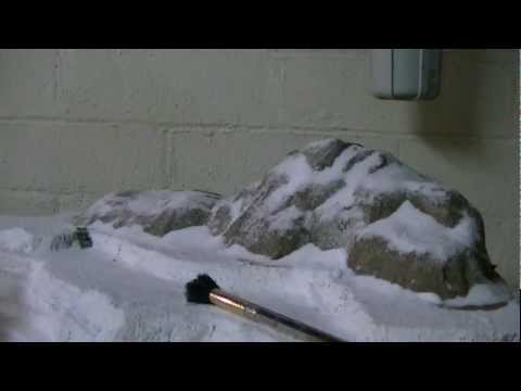 How to make a realistic snow caped mountain model