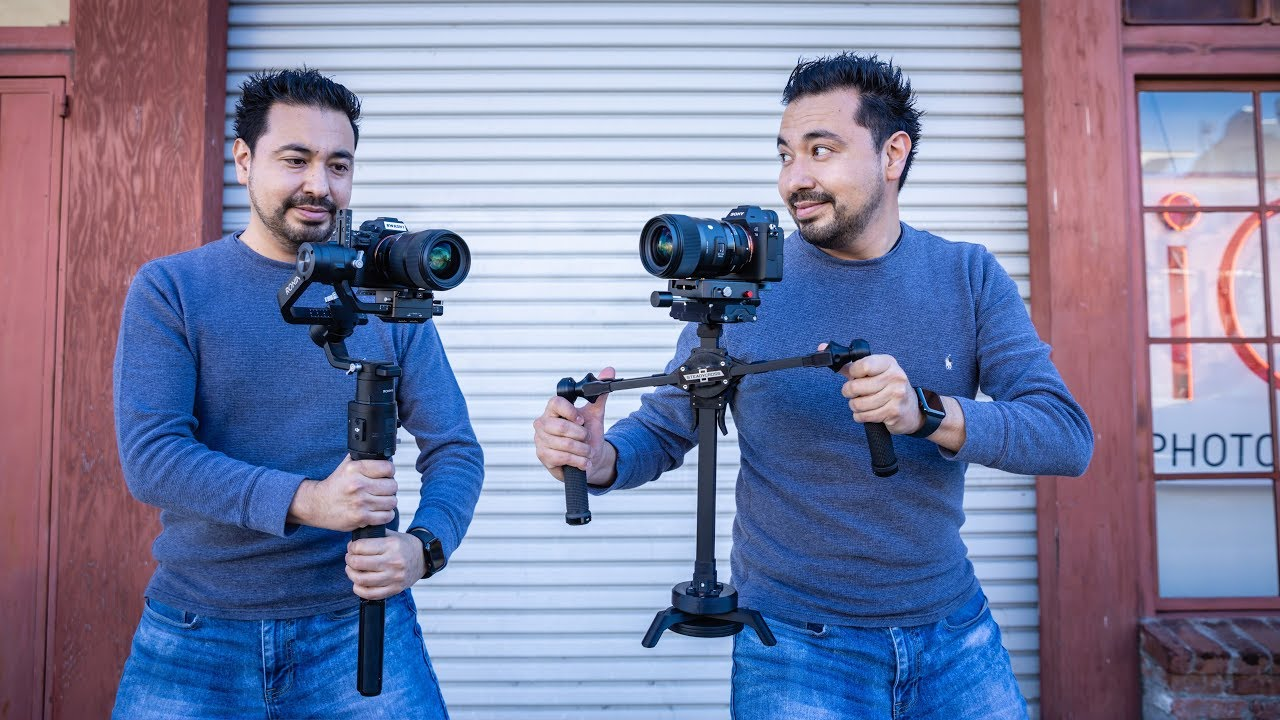 DJI Ronin S Vs SteadyCross Magnetic Camera Gimbal!