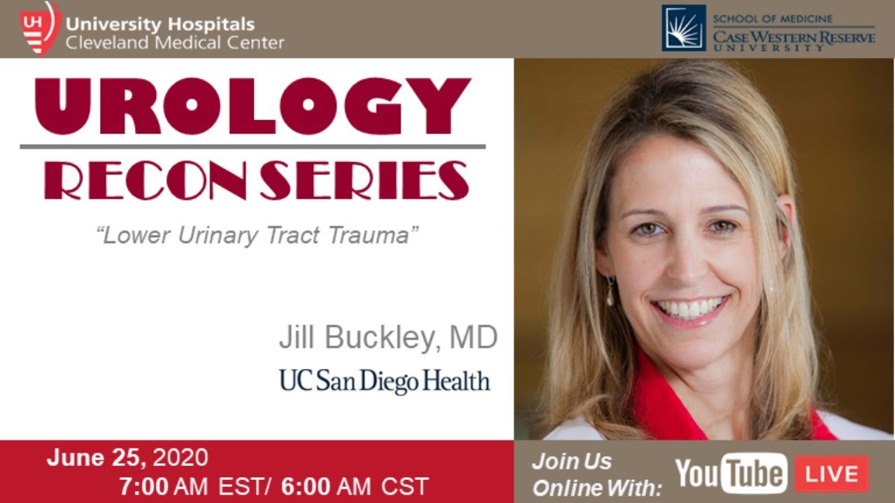 Download GU Recon Lecture Series: Lower Urinary Tract Trauma by Dr. Jill Buckley