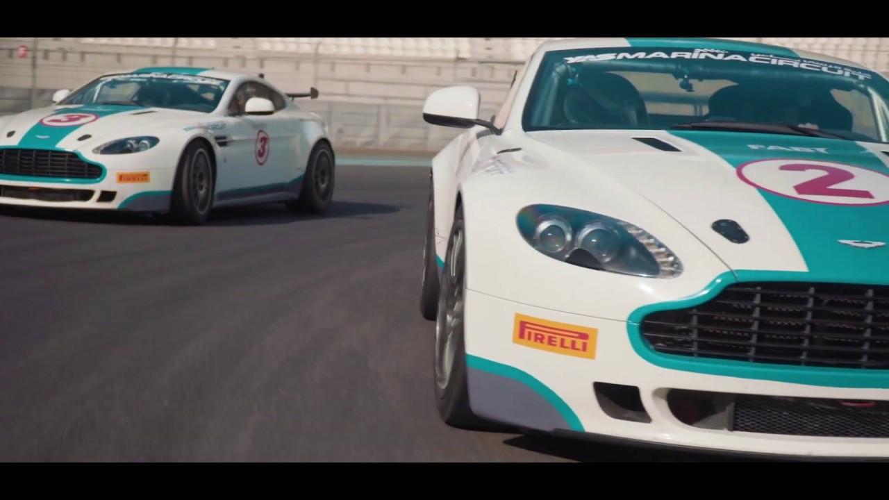Aston Martin Gt4 Drive Yas Marina Circuit Youtube