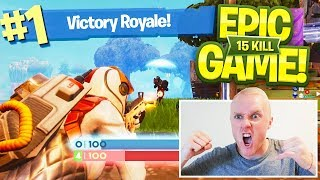 THE GREATEST GAME EVER! - FORTNITE BATTLE ROYALE XBOX GAMEPLAY