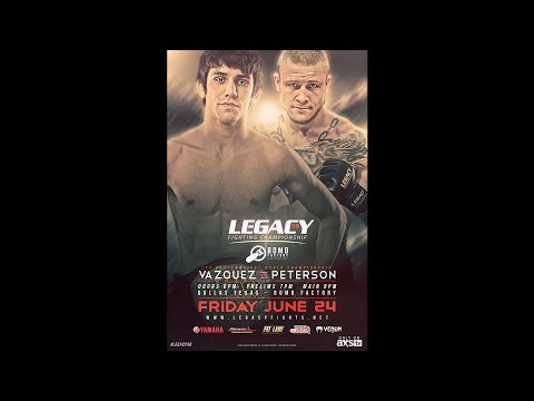 Legacy 56 Prelims - Rogelio Contreras vs Erick Montejano