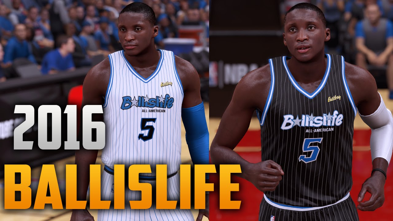 e8c9315c0ae NBA 2K16 2016 Ballislife Jersey & Court Tutorial - YouTube