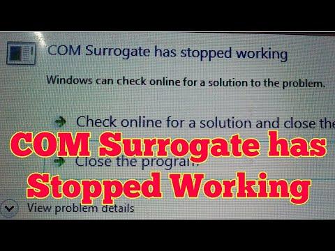 How To Fix Com Surrogate Problem In Laptop/Desktop