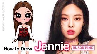 How to Draw Jennie | BlackPink Kpop