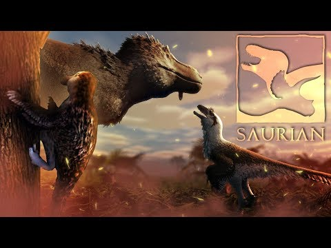 Saurian - CLIMB FROM DINOSAURS! - Tree Climbing & More! - Epic Saurian Update On The Way! - Gameplay