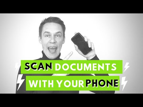 Scan Documents On An IPhone/Android Phone
