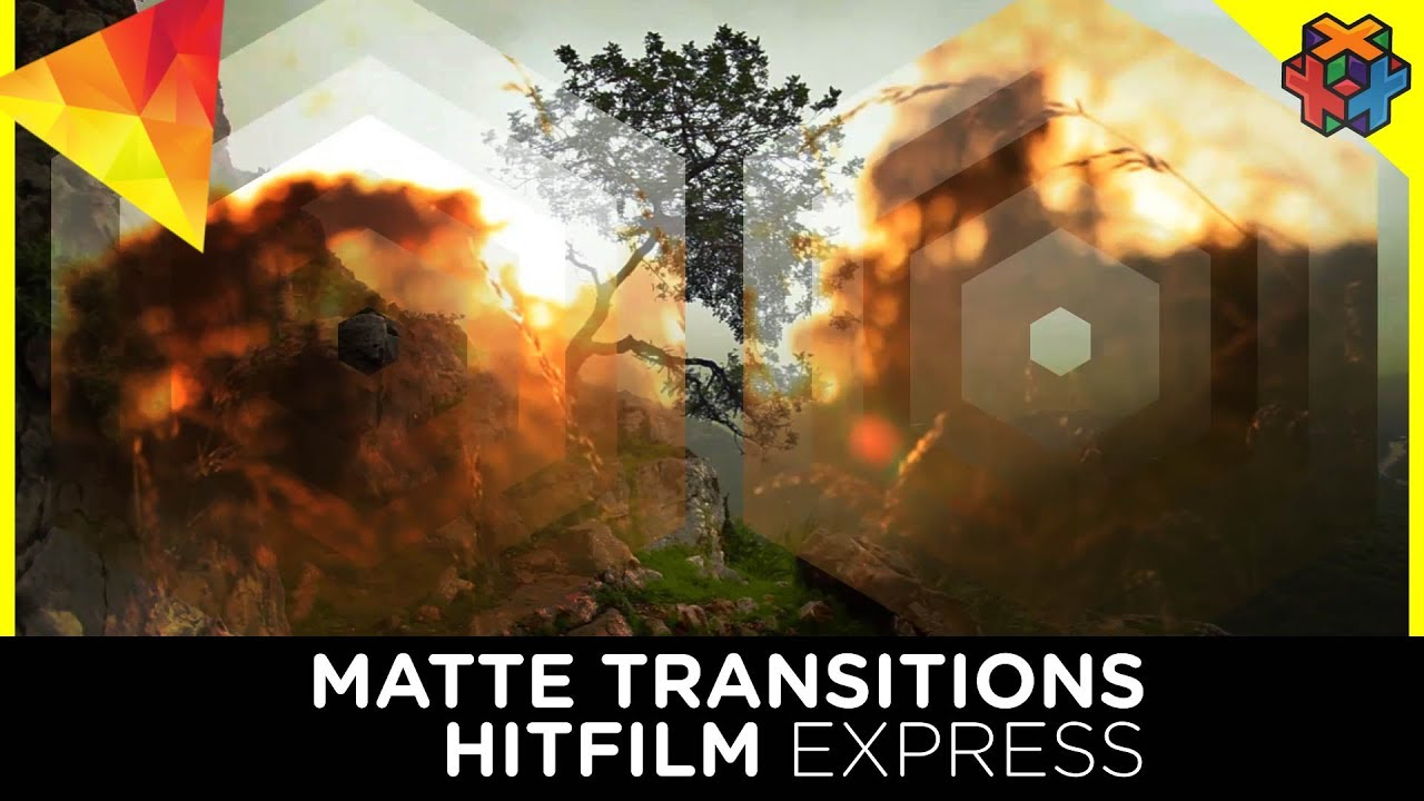 how to make hitfilm transition