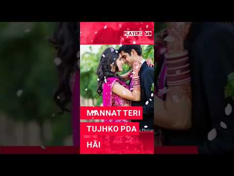 Meri Duaon Mein Hai Mannat Teri   Himesh Reshammiya Tera Surroor 2  WhatsApp Status Full Screen Lyr