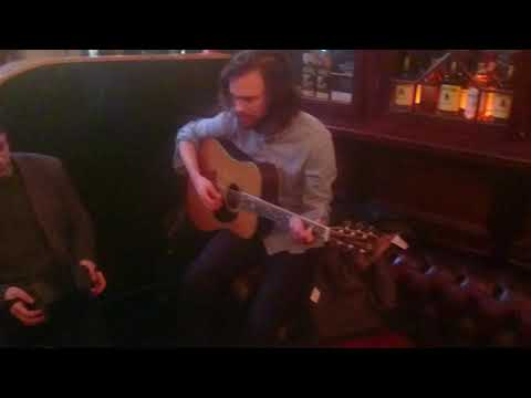 Trad session in The Old Town Whiskey bar at Bodega