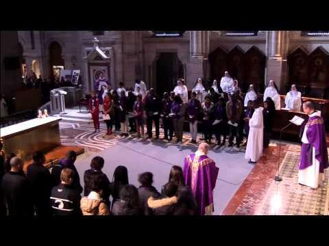 Messe du 1er dimanche de Carême 9 mars 2014