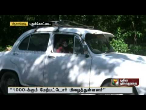 Pudukkottai is the pioneer in the elderly: a free service to the poorest of the poor by car