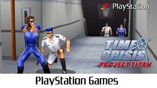 Time Crisis: Project Titan - タイムクライシス プロジェクトタイタン (Quick Gameplay) Playstation