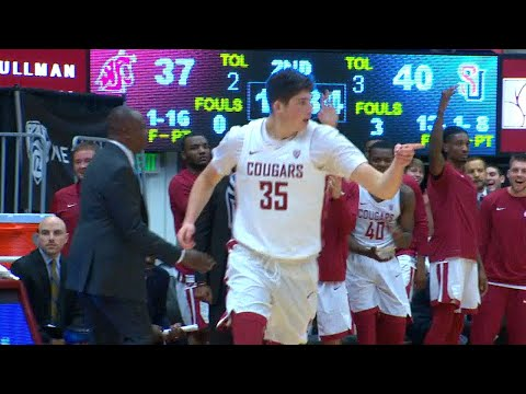 Highlight: Washington State's Carter Skaggs drops 26 points in second half to lead Cougs to win