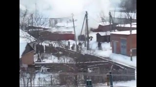 Пожар в Лебедине Сумская область на Студенческом проулке 31.12.2015 года(Пожар в Лебедине Сумская область на Студенческом проулке 31.12.2015 года., 2015-12-31T11:40:22.000Z)