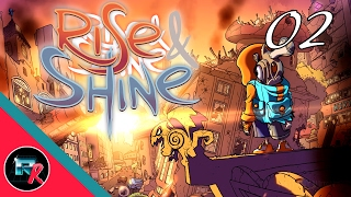 Rise & Shine Let's Play - Part Two - Mega-Badass!