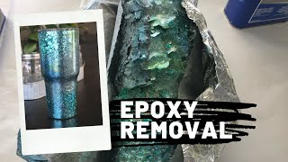 How to Remove Epoxy from Stainless Steel Tumbler