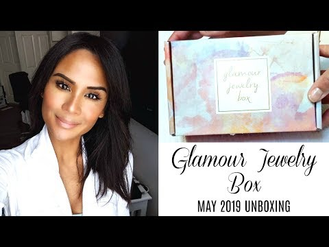 GLAMOUR JEWELRY BOX UNBOXING