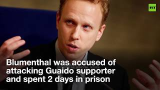 'Phony case': US drops assault charges against Max Blumenthal