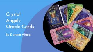 LOOKING THROUGH 'CRYSTAL ANGELS' ORACLE CARDS | Purely Therapeutic