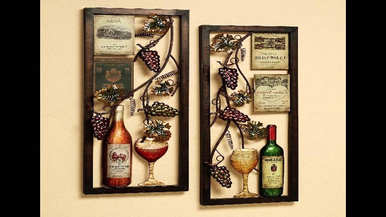 Wine kitchen decor ideas - YouTube