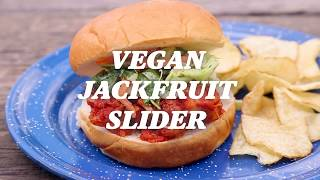 REI Camp Recipes: Vegan BBQ Jackfruit Slider