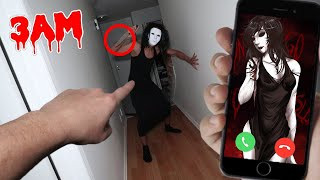 CALLING HOMICIDAL LIU ON FACETIME AT 3 AM!! (JEFF THE KILLER'S
