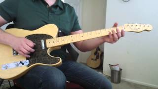 "How To Play "" Roadhouse Blues"" by The Doors - Lesson"