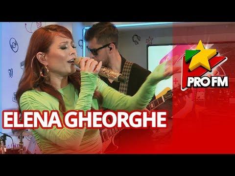Elena Gheorghe - Luna alba   ProFM LIVE Session