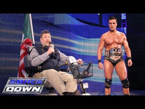 Alberto Del Rio & Zeb Colter Beschimpfen Das WWE-Universum: SmackDown – 5. November 2015