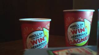 Tim Hortons roll up the rim to Win 2017 part 27