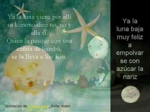 Canción Para Bañar La Luna De María Elena Walsh
