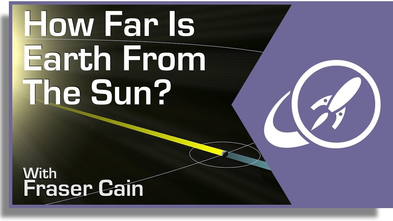 How Far Is Earth From The Sun Youtube