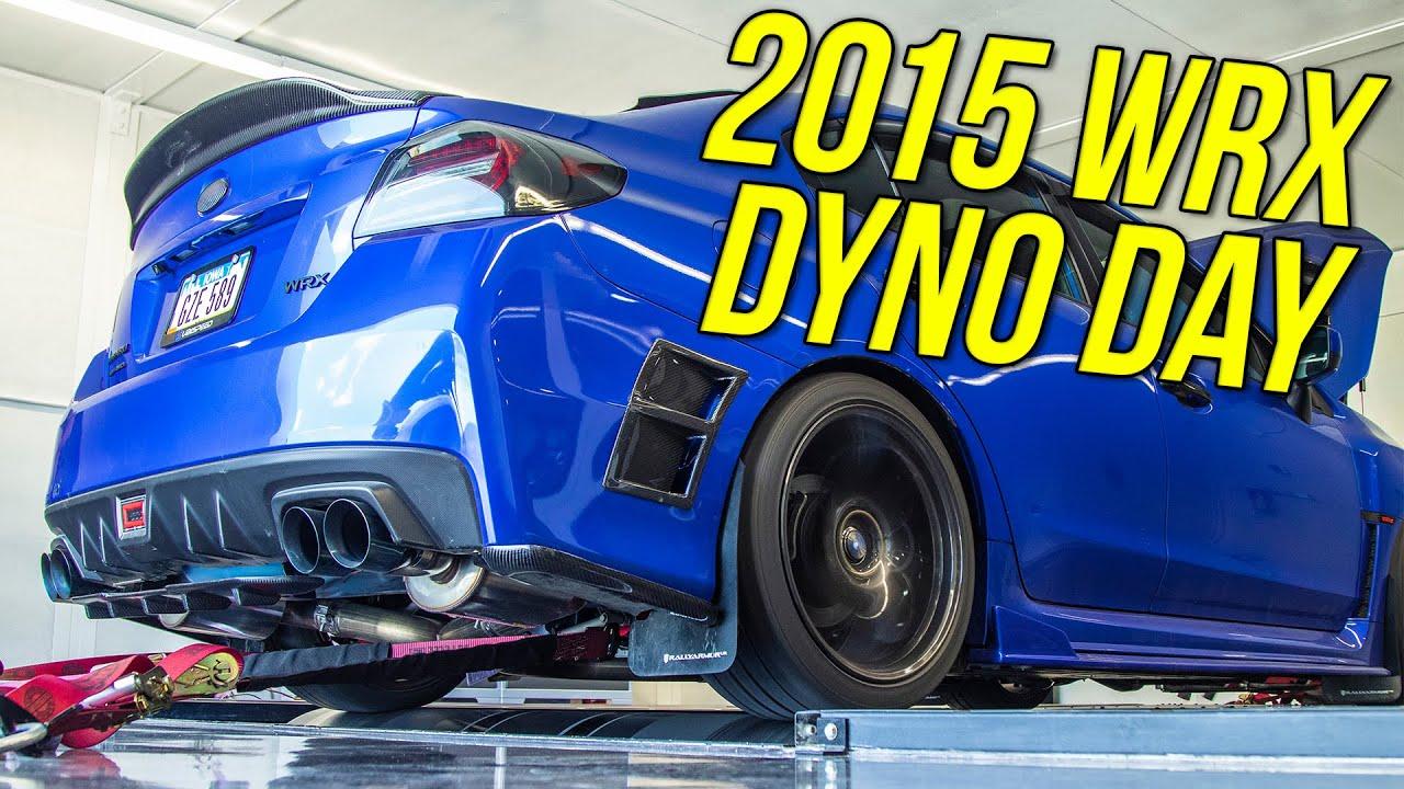 Download Tomei UEL Header 15+ WRX Dyno on Ethanol