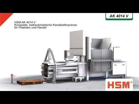 Baling Press HSM AK 4014V