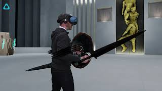 HTC VIVE COSMOS Gameplay: Swords of Gargantua