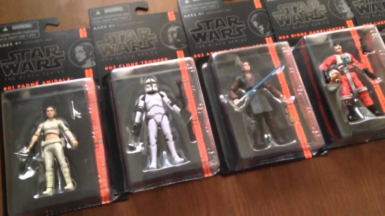 Star Wars The Black Series 3 3//4 Inch ACTION FIGURE
