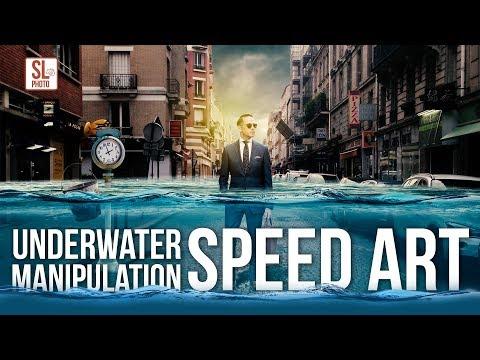underwater-photo-manipulation-|-photoshop-tutorial-|-speed-art