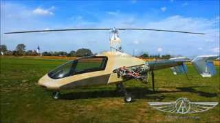 first test flight for 6 seater gyroplane prototype