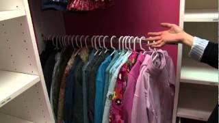 Organizing Children's Closets