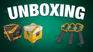 "TF2: ""Confidential Case"" & ""Quarantined Case"" Unboxing! Part 1"