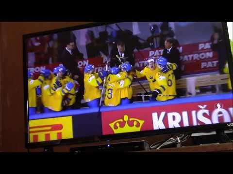 2018 IIHF WC - Sweden vs Switzerland - Gold Medal Game - Shootout, Anthem/Medal Distribution