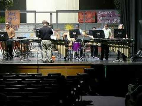 Kelly Mill Middle School percussion ensemble 4/02/07