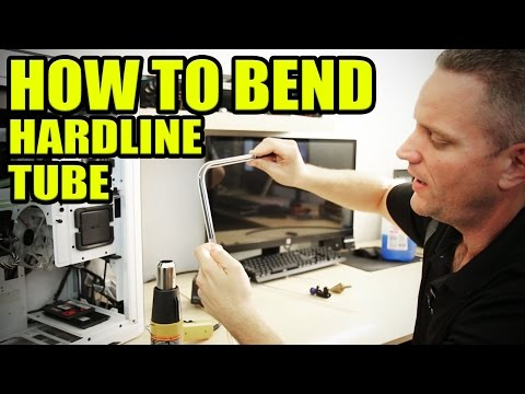 How to bend PETG tubing