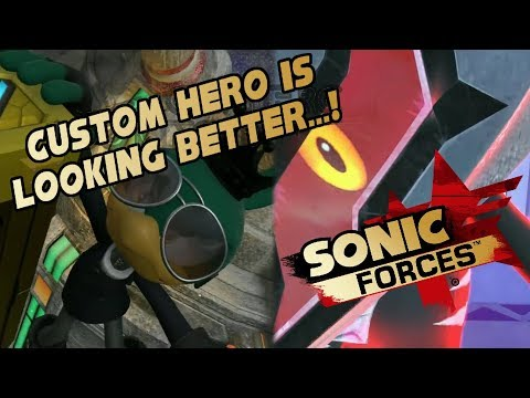 Custom Heroes Don't Need Capes - Sonic Forces Space Port & Rental Hero (Reaction)