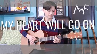 Download Lagu My Heart Will Go On - Céline Dion - Titanic Theme - Cover (Fingerstyle Guitar) mp3
