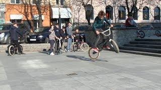 Житомирські екстремали хочуть, аби у місті збудували скейт-парк